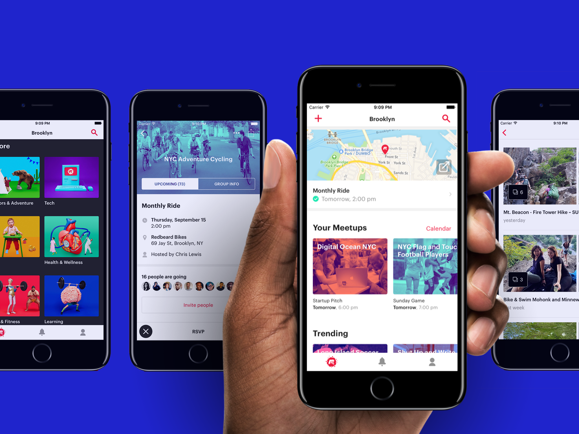 Meetup Mobile Redesign